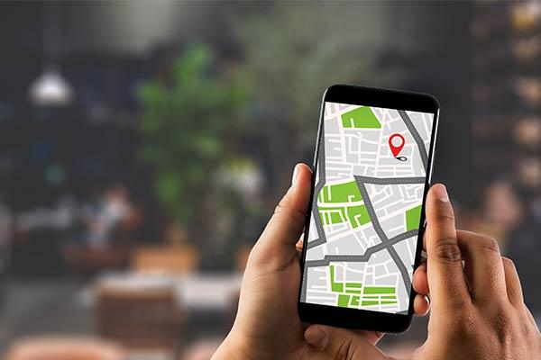 geolocalización mobile